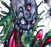 Gruesum Toothsum-Tucson wall art Sticker