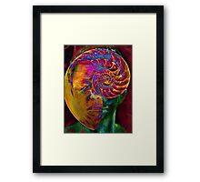 inner man Framed Print