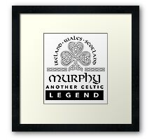 Limited Edition 'Murphy: Another Celtic Legend' Ireland/Scotland/Wales Accessories Framed Print
