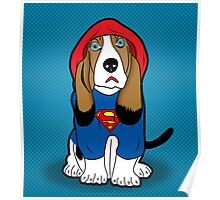 SUPERMAN DOG  Poster