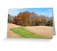 Step Into Autumn Greeting Card