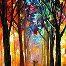 Alley Of The Dream — Buy Now Link - www.etsy.com/listing/174055583 by Leonid  Afremov