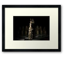 A (Chess) King and his People - 2 Framed Print