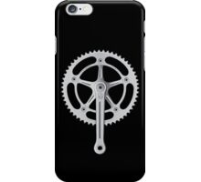Campagnolo Track Chainset, 1974 iPhone Case/Skin