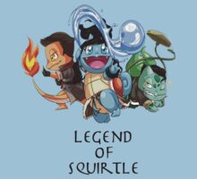 Legend of Squirtle by Kitsuneace