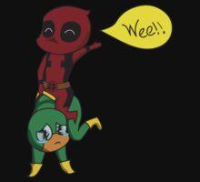 Yee Haw Deadpool! T-Shirt