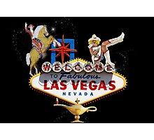 Las Vegas Welcome Sign Photographic Print
