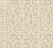 Embossed Floral Pattern by Lena127