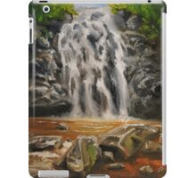 Waterfall Oil Painting iPad Case/Skin