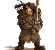 Cartoon John Snow by Koalka