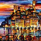Cannes, France — Buy Now Link - www.etsy.com/listing/126409504 by Leonid  Afremov