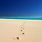 Sandy Bay footsteps by BeninFreo