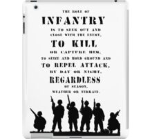 Role of Infantry iPad Case/Skin
