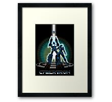 CyberTRON Framed Print