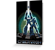 CyberTRON Greeting Card