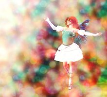 Fairy on Bokeh background 3 by AnnArtshock
