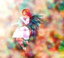Fairy on Bokeh background 4 by AnnArtshock
