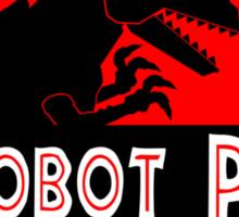 Dinobot Park Sticker