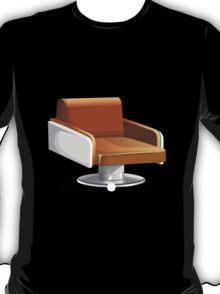 Glitch furniture armchair orange round armchair T-Shirt
