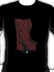 Glitch furniture armchair wine highback chair  T-Shirt