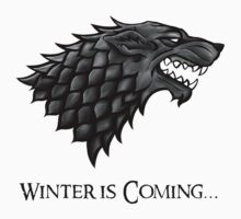 Winter is coming... Direwolf by Carter478