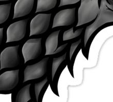 Winter is coming... Direwolf Sticker