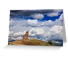 Ruined Byzantine Tower Greeting Card