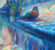 Pigeon Symphony by yendesigns