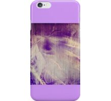 All She Left Was A Ghost (shades of purple) iPhone Case/Skin