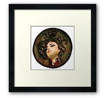 Amy Winehouse by Caravaggio Framed Print
