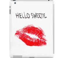 Hello Sweetie Kiss Kiss iPad Case/Skin