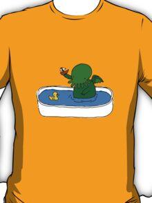 Bathtime for Cute-thulhu T-Shirt
