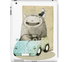 Monster In A Car iPad Case/Skin