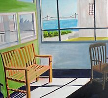 The Warden's Office, Alcatraz San Francisco by Lynn Ahern Mitchell