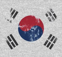 Flag of South Korea by mikeonmic