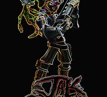 Jak and Daxter Glow Design by ChaosSpyro