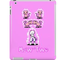Mew-Two iPad Case/Skin