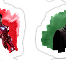 The Avengers + Watercolours Sticker