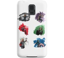 The Avengers + Watercolours Samsung Galaxy Case/Skin