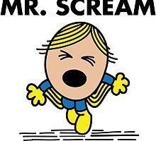 Mr. Scream by irkedorc
