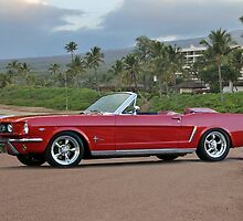 1966 Ford Mustang Convertible by DaveKoontz