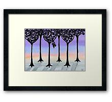 Winter Stroll Framed Print