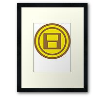 Play Coins Framed Print