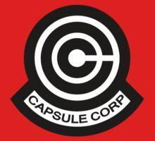 The Capsule Corporation logo Kids Clothes