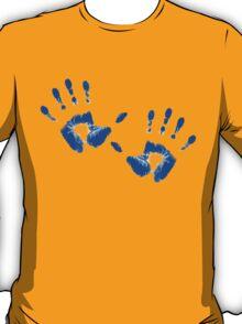 Blue Handprints T-Shirt