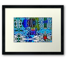 The Season of Madness Framed Print