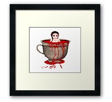 Cup of Blood Framed Print