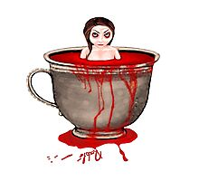 Cup of Blood Photographic Print
