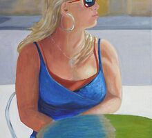 Waiting Beauty by Lynn Ahern Mitchell
