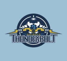 District 3 Thunderbolt by Crocktees